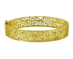 Lace Cuff Bangle with Champagne Diamonds in Gift Guides The Holiday Party! at TWISTonline