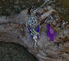 £5 fairy pentagram necklace by shiningstarjewellery on Etsy