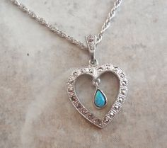 Theda Sterling Silver Heart Pendant Upcycled by cutterstone, $69.00