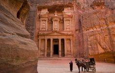 "Jordan - Petra, the ""rose red city half as old as time"""