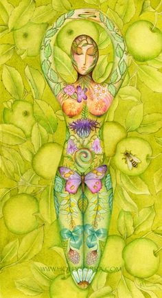 Goddess Of The Orchard.