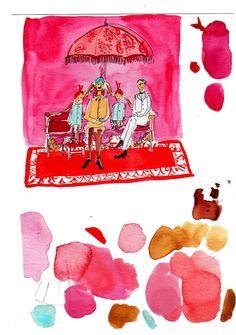 style court: Artists' Palettes: Virginia Johnson