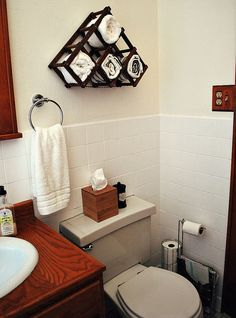 How to paint tile - OMG. I think this bathroom (before) has the same horrible tiles as our Kitchen!