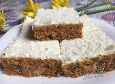 Krispie Treats, Rice Krispies, Sweet Desserts, Vanilla Cake, Food And Drink, Cooking Recipes, Dios, Yogurt, Backen