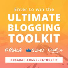 Enter to win the Ultimate Blogging Toolkit