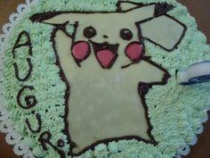 La buona cucina di Katty: Torta Pikachu (Pokémon)