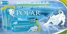 Crema de masaje efecto frío Physiorelax Polar que aporta un efecto relajante