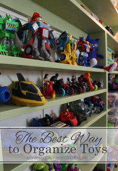 The Perfect Solution to Organizing Toys | Confessions of a Serial Do-it-Yourselfer