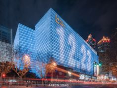 上海陆家嘴中心 | L+Mall Shanghai - 原创作品 - 站酷(ZCOOL) Facade Lighting, Skyscraper, Multi Story Building, Retail, Skyscrapers, Shops, Retail Merchandising, Sleeve