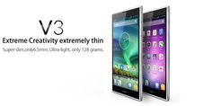 Cheap_Gsmarena_Best_Mobile_Phone_Wholesale: iNew V3- 6.5mm Thin MTK6582 Quad Core 1.3GHz 1GB RAM, 16GB ROM 5.0inch