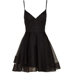 Alex Perry Stevie Silk Organza Mini Dress (€1.435) ❤ liked on Polyvore featuring dresses, short dresses, vestidos, mini dress, layering camisole, layering cami, mini cami and asymmetrical cocktail dress