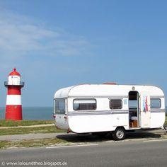 Mit Theo ans Meer - Urlaub im Wohnwagen