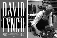 David Lynch making lithographs. Via Openculture.com