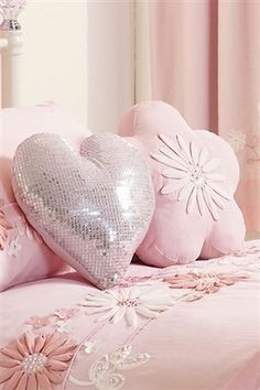 Love Heart Shaped Pillows