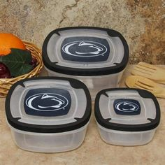 Penn State Food Containers #UltimateTailgate #Fanatics
