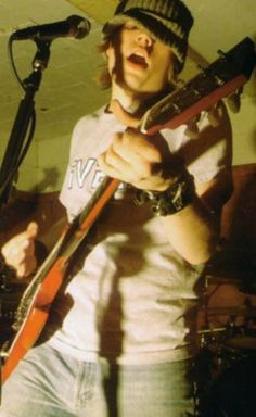Patrick Stump during the Fall Out Boy early days.