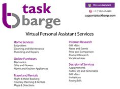 54 Best Personal Assistant Services Images Business