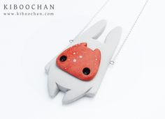 """KIBOOCHAN.COM: Cute monsters and other mysteries - """"Wandering Toshichan"""" Necklace"""