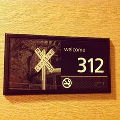 Take a Picture of Your Hotel Room Number So You Don't Forget it.