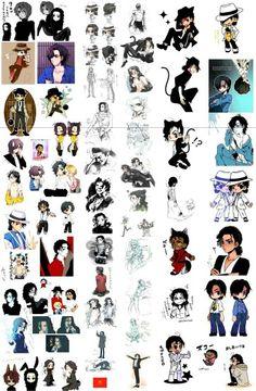 Michael Jackson animes