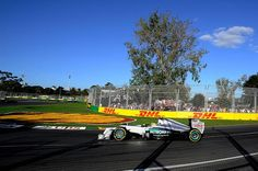 Nico Rosberg (GER) Mercedes  Australian Grand Prix, Melbourne, March 2012