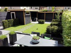 Onze heerlijk, rustige en strakke achtertuin