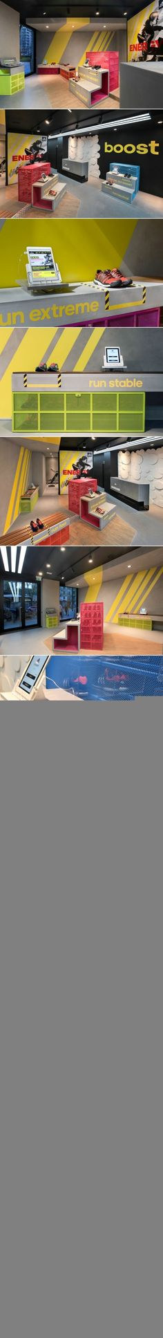 adidas RunBase Store by DINN!, Milan – Italy » Retail Design Blog... - a grouped images picture - Pin Them All