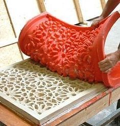 Surface Treatment For Concrete Worktops - Concrete molds Concrete Casting, Concrete Cement, Concrete Furniture, Concrete Crafts, Concrete Projects, Concrete Design, Ceiling Design, Wall Design, Cement Art