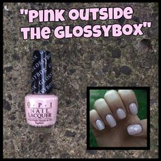 23. OPI: Pink Outside The Glossybox
