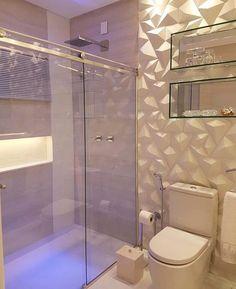 Mix de revestimentos nichos espelhados e muita inspiração no banharíeis by Carla Dias. Amei! @pontodecor   @maisdecor_ www.homeidea.com.br Face: /homeidea Pinterest: Home Idea #homeidea #arquitetura #ambiente #archdecor #archdesign #projeto #banheirosocial #home #homedecor #pontodecor #homedesign #photooftheday #interiordesign #interiores #picoftheday #decoration #revestimento #decoracao #architecture #banheiro #inspiration #project #revestimento3D #home #casa #grupodecordigital