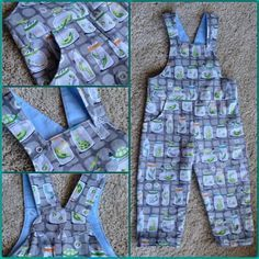 My earlier post about toddler dungarees with free pattern turned out to have been well-timed, as a week later episode 4 of The Great British Sewing Bee featured a challenge making kids dungarees. Toddler Sewing Patterns, Sewing Kids Clothes, Baby Clothes Patterns, Sewing For Kids, Pattern Sewing, Kids Patterns, Children Clothes, Free Sewing, Kids Clothing
