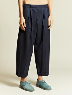 1205 WOMEN'S AMRATH FLANNEL WAIST TROUSERS