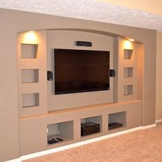 Entertainment Center Shelving Design Ideas, Pictures, Remodel, and Decor - page 5
