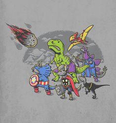 Ben Chen - Jurassic Avengers