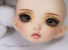 https://flic.kr/p/MQ3Qby | Untitled | Finished face up for Kristina. Fairyland Littlefee Luna (NS) I'm in love with this little girl, she is so cute <3