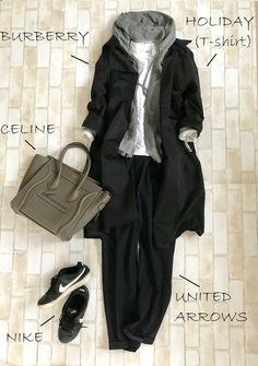 流行りの「マンパ」はユニクロで代用。今すぐ着れるアウターに! | Marisol ONLINE | 女っぷり上々!40代をもっとキレイに。 60 Fashion, Fashion Mode, Japan Fashion, Minimal Fashion, Cute Fashion, Modest Fashion, Fashion Outfits, Womens Fashion, Iranian Women Fashion