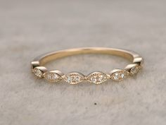BBBGEM offers antique diamond wedding rings,see our diamond wedding bands in 14k/18k rose gold,white gold or yellow gold.All can be matching bands.