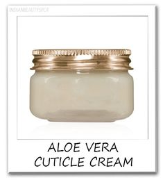 Cuticle Cream aloe vera and coconut oil