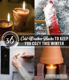 colder weather Hacks