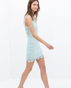 Image 3 of BACKLESS TUBE DRESS from Zara Casual Chic, Moda Zara, Vestidos Zara, Confessions Of A Shopaholic, Zara New, Zara Fashion, Tube Dress, Zara United States