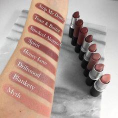 MAC Lipstick, Nude Lipstick, Lipstick Swatches