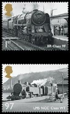 Great British Railway Set of Stamps