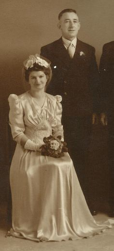 Amy Elizabeth Hickey nee Brennan. My other granny. 1909-1989 (Born Sale, died Bendigo, buried Echuca).