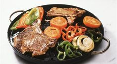 Argentinian Veal Cutlets with Vegetables