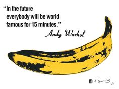 Famous - Andy Warhol #wow