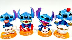 Play Doh Surprise Unboxing Disney Stitch Toys Ice Cream Cupcake Cake Coc...