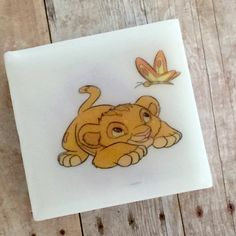 Baby Lion Natural soap for our little ones💕🌞