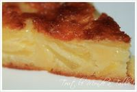 Fondant aux pommes - Tout le monde à table ! Köstliche Desserts, Delicious Desserts, Dessert Recipes, Yummy Food, Apple Recipes, Sweet Recipes, Cookie Recipes, Appetizer Recipes, Food And Drink