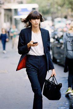 Vanessa Jackman: Paris Fashion Week SS 2015....Mica