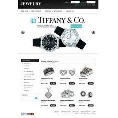 Jewerly business custom ecommerce website